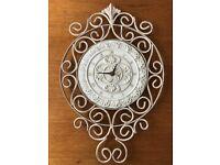 Resin/Metal Clock.