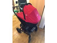Joie Red Travel System