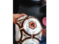 Wolves signed football