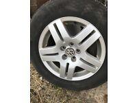 VW Mk4 wheels excellent condition