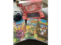 Nintendo switch and games and box