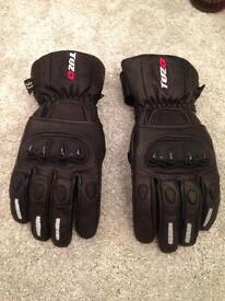 Tuzo Blitz Leather Motorcycle Gloves (never been worn)