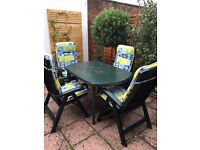 Jardin Garden Dining Table (chairs sold separately)