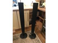 LG Black Speakers