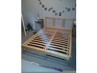 double bed (frame)