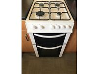 Logik Gas cooker white