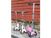 Micro Scooters Micro & Maxi £20- £60