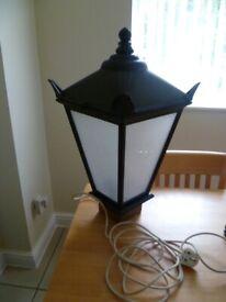 outdoor indoor victorian pub lantern light with jh joseph holt logo name