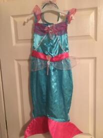Costume/ dressing up little mermaid