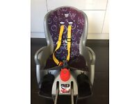 Hamax rear bike seat