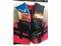 Child Life Jacket Vest - Disney Cars themed