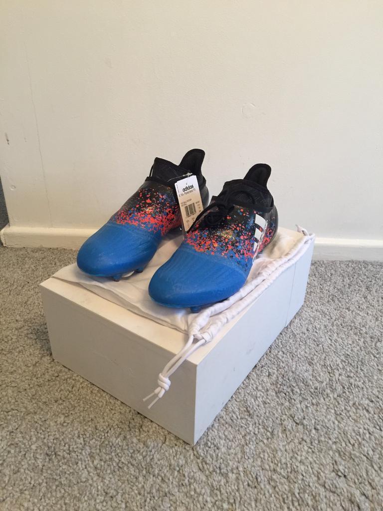 Men s Adidas Paris pack x16 + purechaos FG Football Boots Size 6.5 ... cb9efe641372