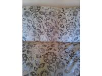 11 metres of GORGEOUS DOVE GREY VELVET FABRIC *CURTAINS, UPHOLSTERY ETC * BRAND NEW
