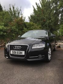 Audi A3 SPORT TFSI, FSH, LADY OWNER. 2011 BARGAIN £4850