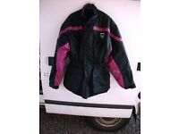 FRANK THOMAS WATERPROOF MOTORBIKE JACKET SIZE XL