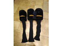 3 DONNAY GOLF HEAD COVERS