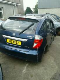 2005 Honda FR-V 2.2 diesel for breaking only all parts available