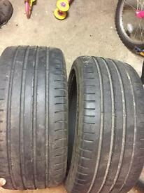 Goodyear tyres 245/40R18""