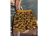 Bape camouflage shorts