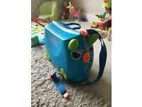 Trunki Suitcase Blue