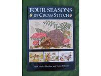 Four Seasons in Cross Stitch by Jayne Mayhew and Nicki Wheeler