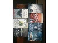 Game of Thrones full set of paperbacks