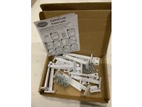 Clippasafe drawer locks box of 12 (2 boxes available)