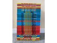 30 x Beano Books 1970-80-90-2000 Annuals, Near Complete Run, VG to Mainly VFN/NM