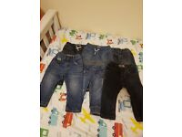 bundle of baby clothes 9-12 and 12-18 mnths