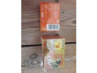 4 Sony Mini DV tapes