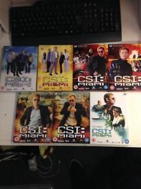 CSI: MIAMI Complete Boxset Series Season 1-4 6 American TV show DVD Crime drama police