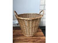 REDUCED Lovely Wicker Storage/Laundry Basket