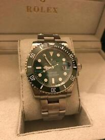 Rolex Submariner Hulk Green for sale with box and papers