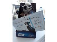 Meerkat Star Wars Figure - Sergei as Obi-Wan Kanobi BNIB with Certificate! with Certificate