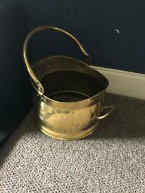 Brass Log or Stick bin!