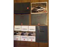 Citroen C5 Owner's Handbook Pack