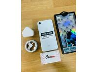 iPhone XR 64GB (3 months shop warranty): Unlocked with charger and case