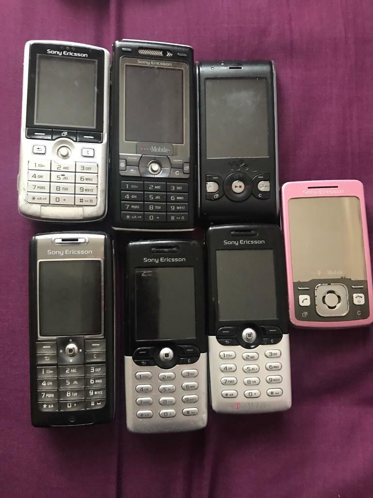 7 untested Sony ericsson