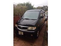 Mazda Bongo Campervan Rear Conversion 4 Berth 5 Seater