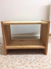 Wooden unit/shelving