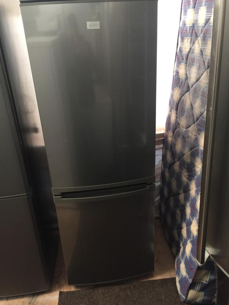 Zanussi silver good looking frost free A-class fridge freezer cheap