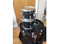 Yamaha Rare Rock Tour Drum Kit 4-Piece Shell Pack Matte Black