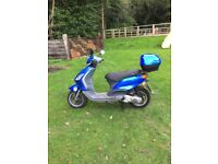 Very Nice Piaggio Fly Moped For Sale