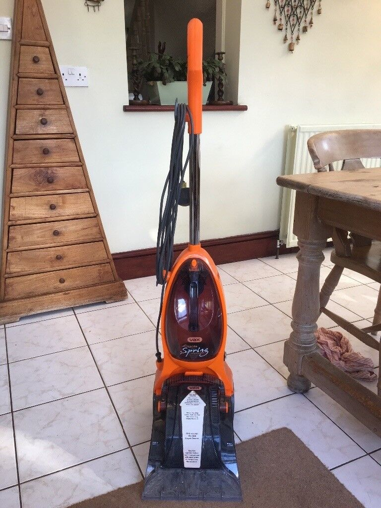 Vax Rapide Spring Carpet Cleaner Hardly Used Powerful