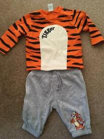 Disney Tigger outfit baby nearly new