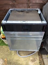 Zanussi integrated dishwasher spares repairs