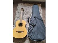 Sheridan BC060 Acoustic Guitar with hard shell carry case
