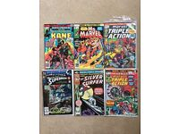 Mixed Lot of Bronze Age comics
