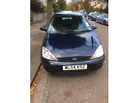 Ford Focus LX Automatic. 5 Door Hatchback. Petrol. 1596 cc. Blue. 2005. Reliable car. A/C. Radio, CD