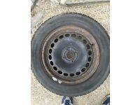 4 x Continental Tyres 185/65 R 15 88T Vauxhall Corsa C with plenty thread 5+mm